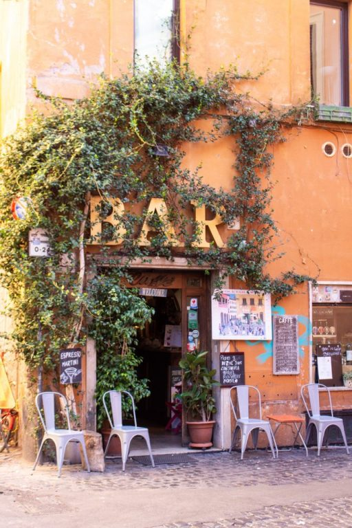 Bar del Cinque, Trastevere, Rome, Italy- - PHOTO DIARIES: ROME