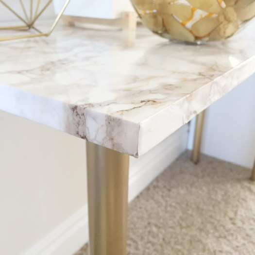 marble table, diy marble contact paper, ikea hack, fall decor,