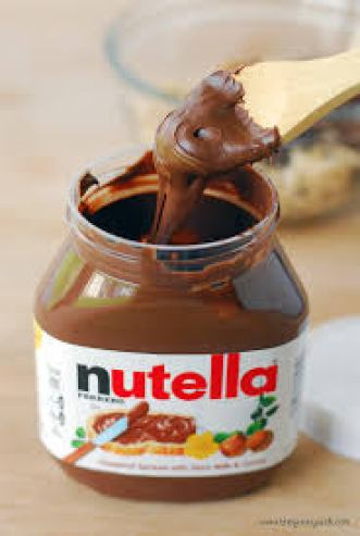 Nutella, Nutella recipes, how to thin Nutella, crepe fixings, crepe bar,