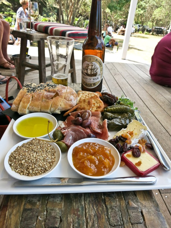Platter at Man O' War Vineyard