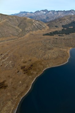 Lake Tennyson from the air