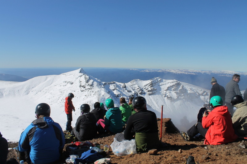 Lunch on Red Crater