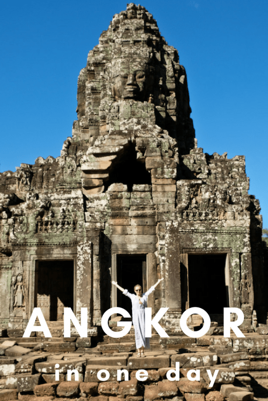 Do you only have limited time in Siem Reap? It's a big day out but you can definitely see the best of the Angkor temples in one day! Tick off Angkor Wat, Bayon, Ta Prohm, Banteay Srei and Beng Melea in one go.