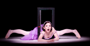 Sarah Lamb as Alice in Alice's Adventures in Wonderland photo