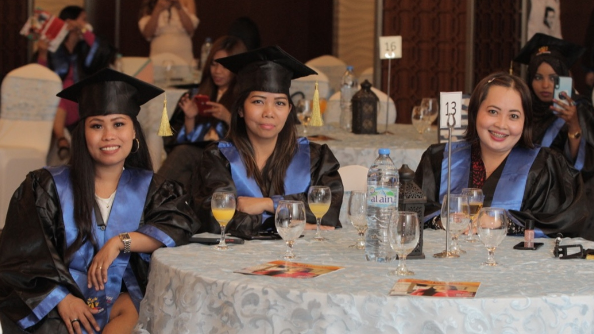 Nearly 200 students from FI Batch 2 professional diploma programs graduate