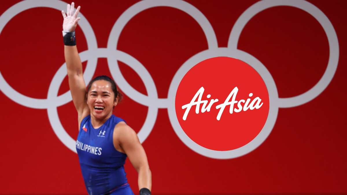 AirAsia Philippines gives Hidilyn Diaz lifetime free flights