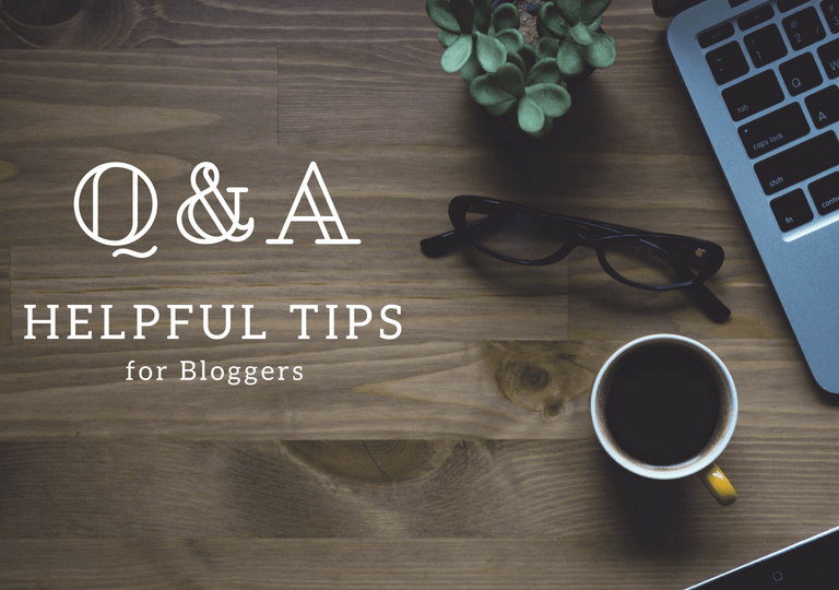 Tips for Bloggers