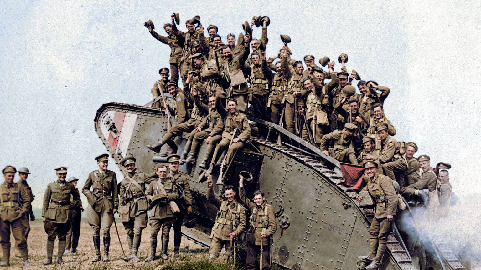 Colourized Images Show First World War In A New Light