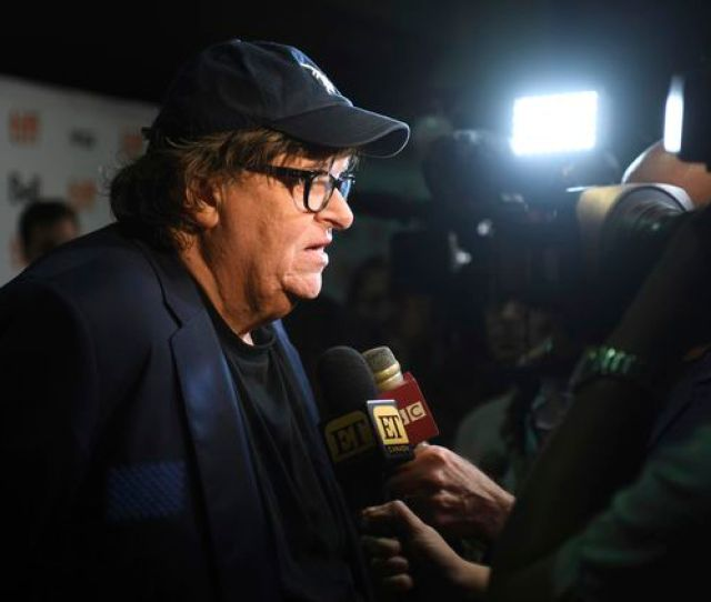 Michael Moore Speaks With Journalists As He Attends The Premiere For Fahrenheit 11 9 At The Ryerson Theatre On Sept 6 2018 In Toronto