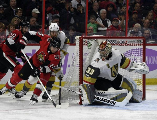 Golden Knights snap three-game losing streak with 5-4 win ...