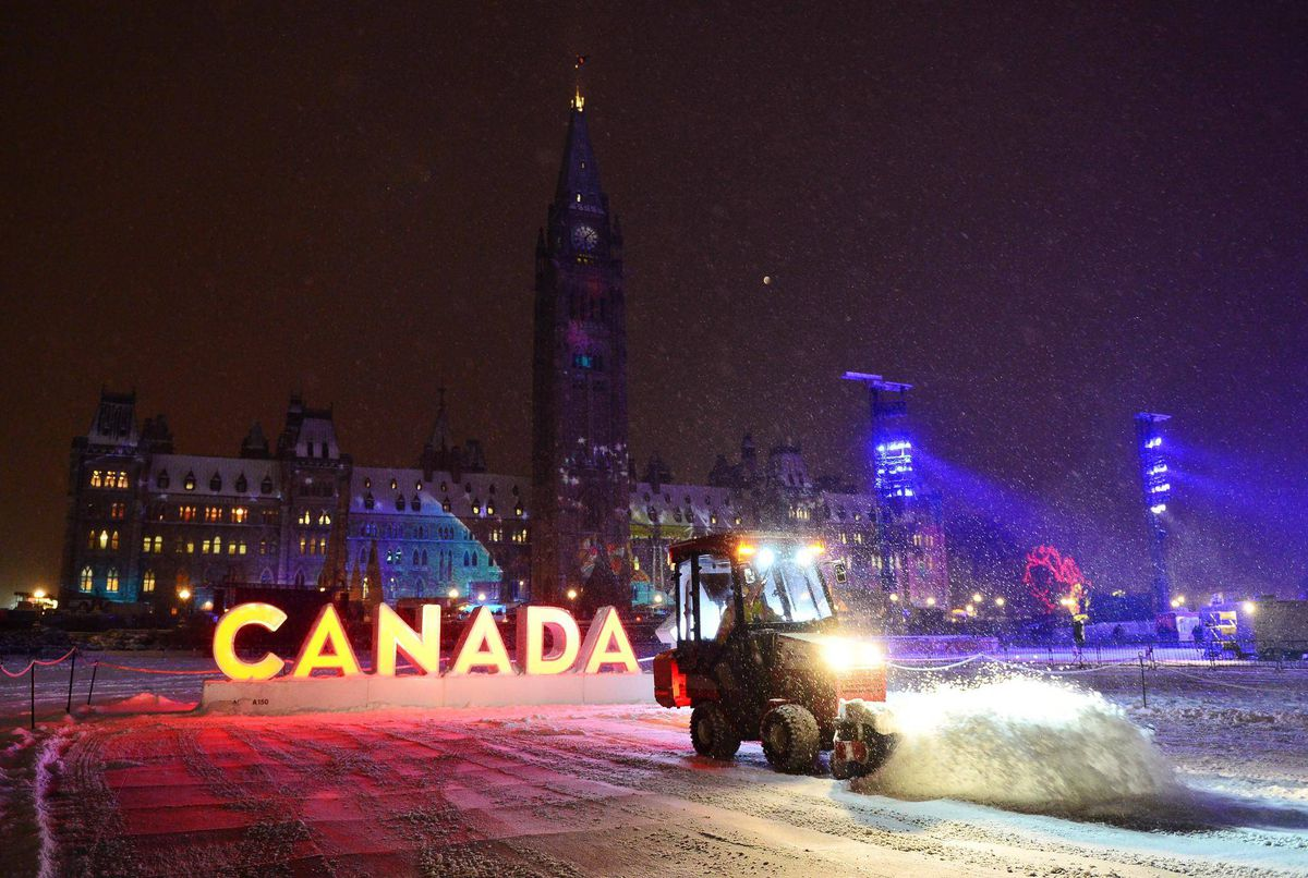 White Christmas Uncertain In Parts Of Canada But Cold