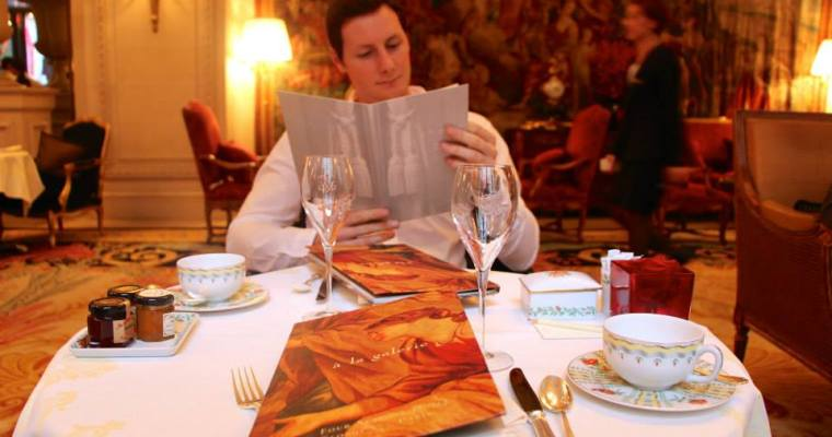 High Tea at the George V Four Seasons in Paris