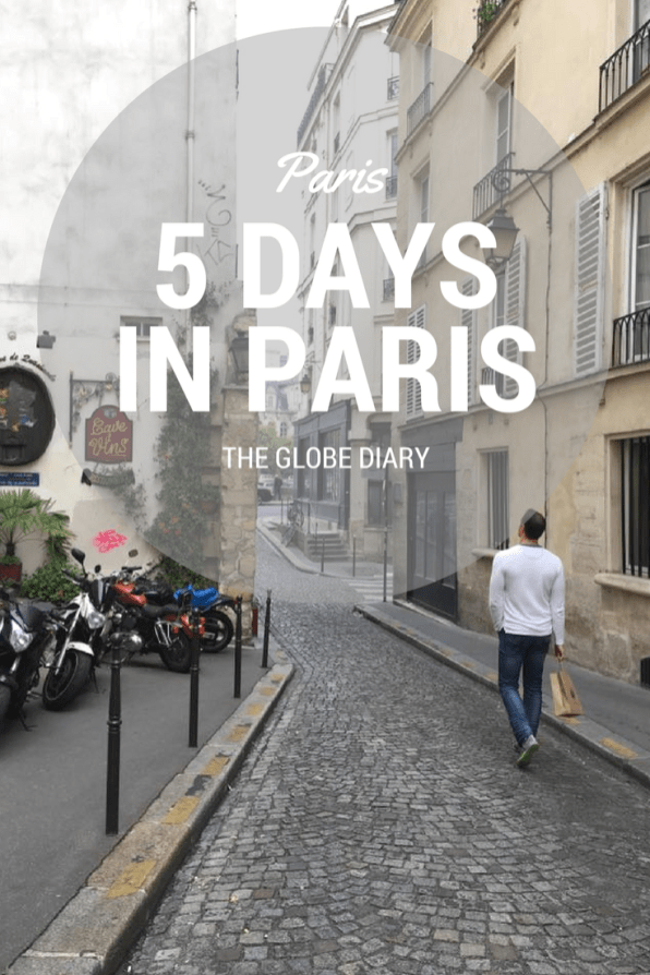 how to spend 5 days in paris