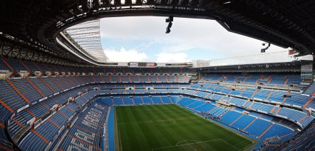 Top 10 Football Stadiums of the World Santiago Bernabeu Stadium