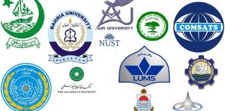 top universities of pakistan