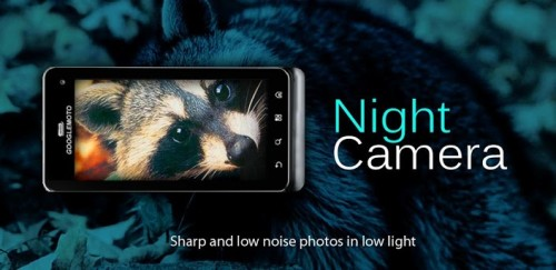 best Paid Android Apps for photographers - Night Camera+