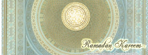 islamic Cover Photo for facebook- Ramadan kareem