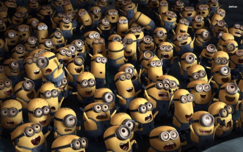 Crowd of Minions - Despicable me 2