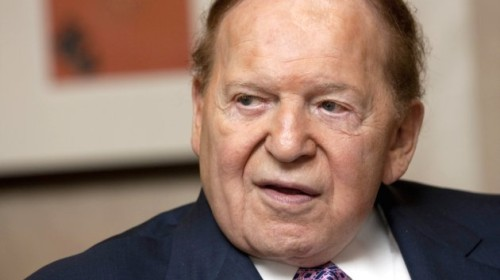 Sheldon Adelson, Chairman Of Las Vegas Sands Corp. Interviewed