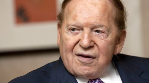 Sheldon Adelson, Chairman Of Las Vegas Sands Corp. Interviewed