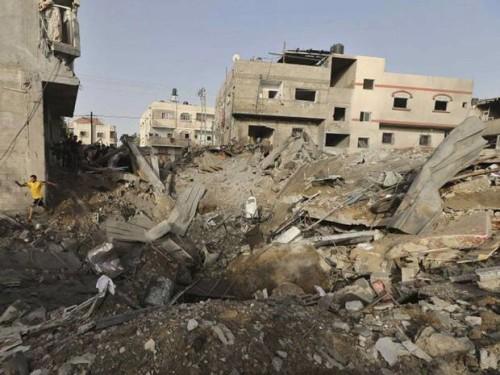 Israel attacks palestine (10)