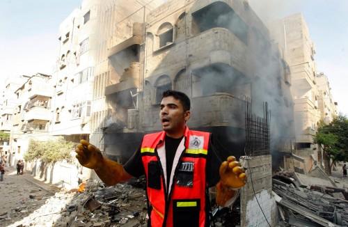 Israel attacks palestine (2)