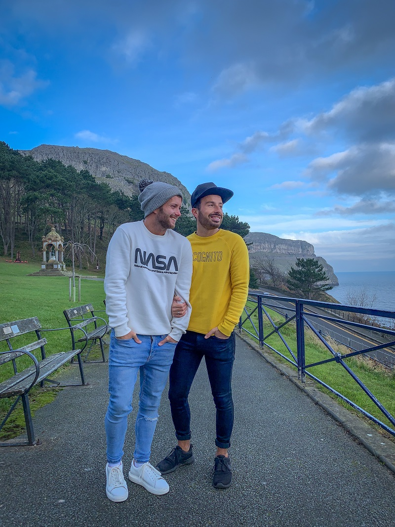 uk LGBTQ+ bloggers and influencers things to do in north wales itinerary