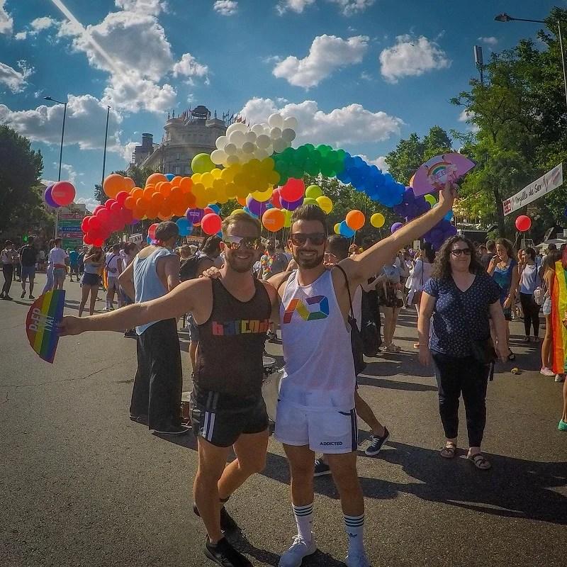 Madrid pride gay guide