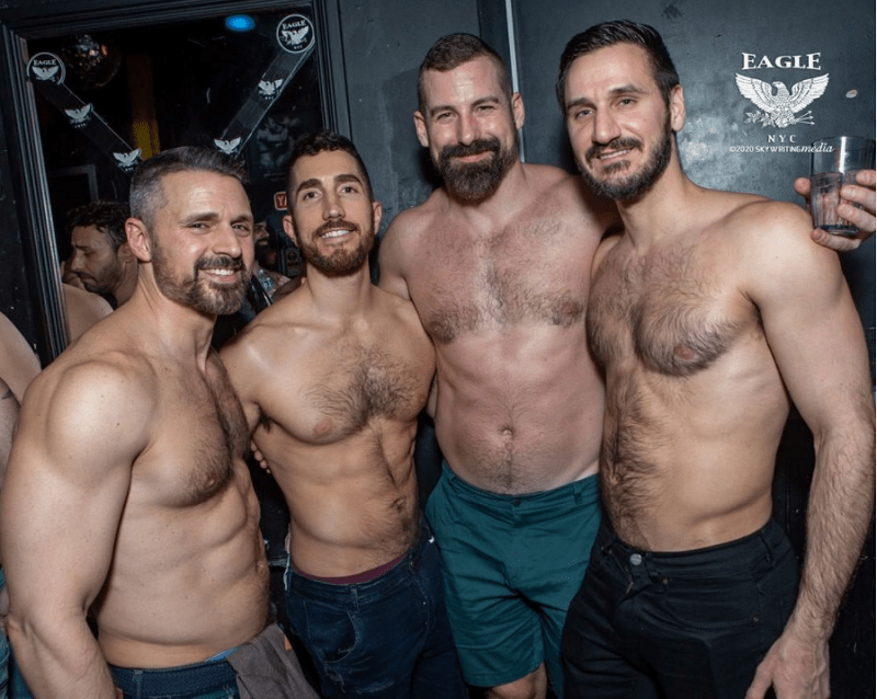 gay new york city gay bars NYC eagle