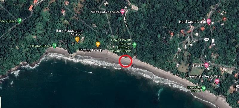 costa rica gay beach manuel antonio