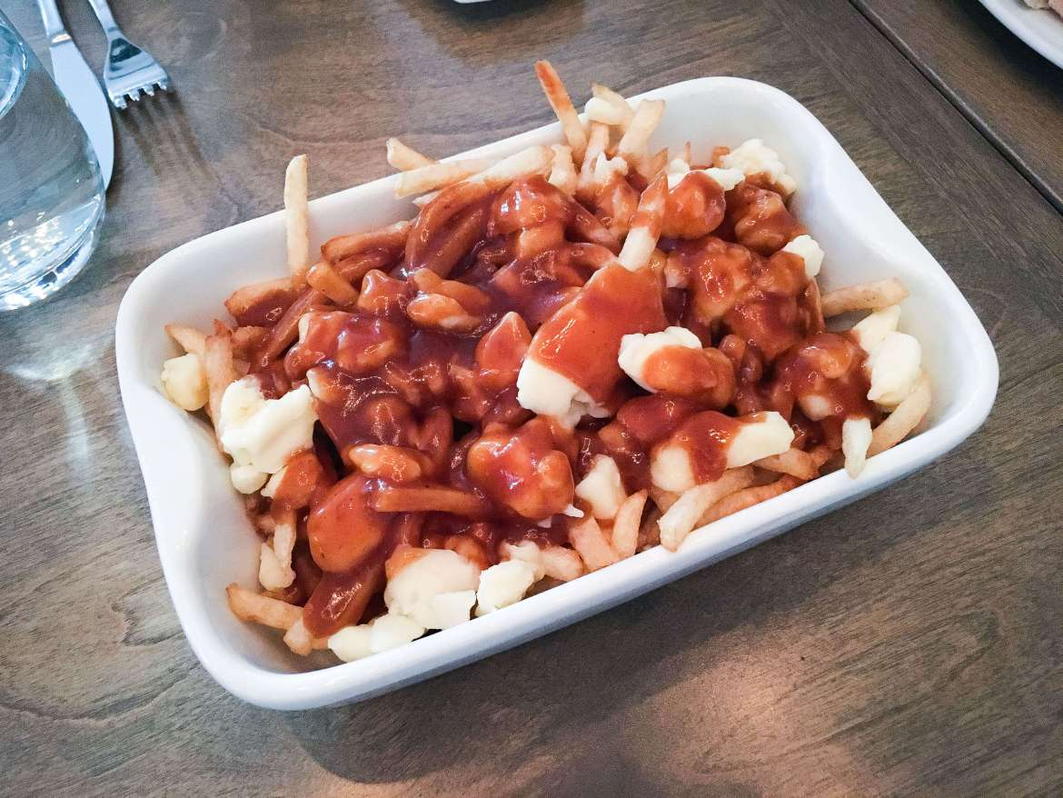 Poutine in Montreal