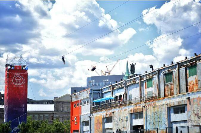 Zipline Adventure in Montreal