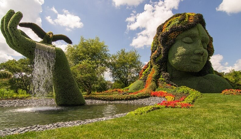 Botanical Gardens in Montreal
