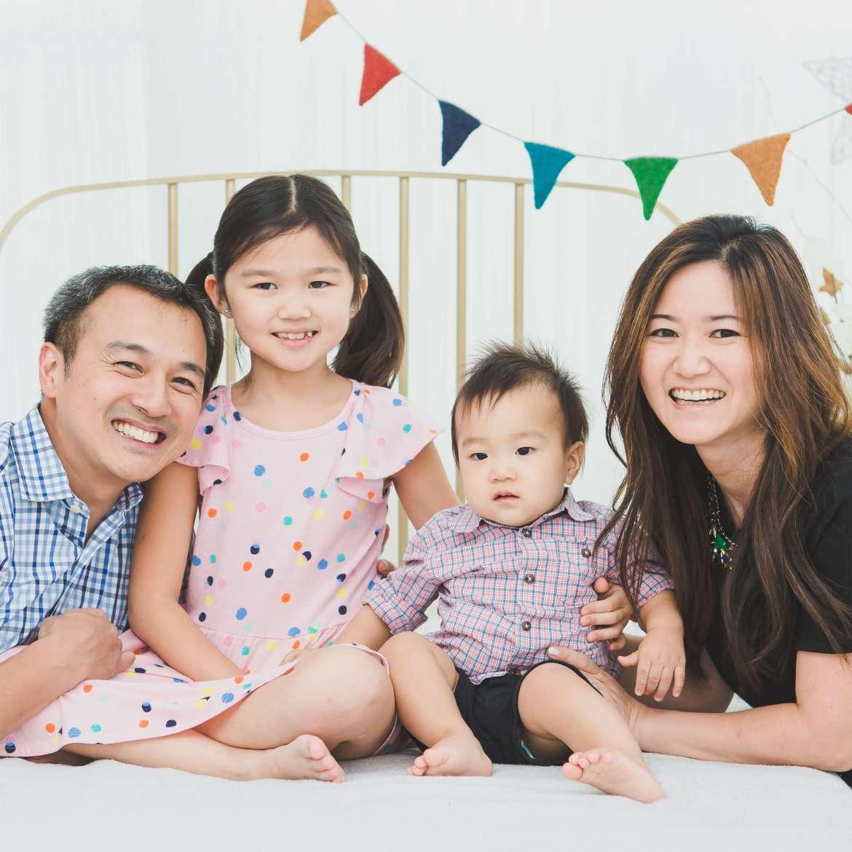 Kim Family Photo