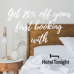 Hotel Tonight Coupon