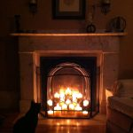 20 Simple Ways To Decorate A Fireplace Mantle With Flameless Candles