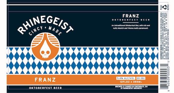 Franz, By Rhinegeist Brewing, Cincinnati Ohio