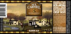 Mt Carmel Blonde Ale