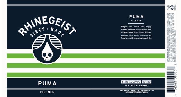 Rhinegeist Puma Label