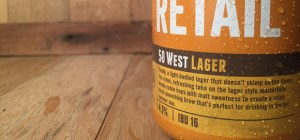 Fifty West State Lines Lager