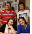 John, Josiah, and Amy Manteit