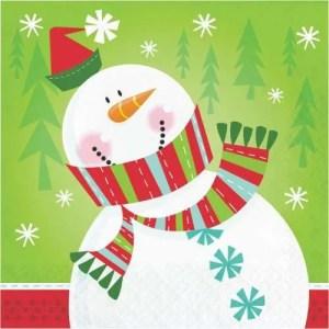 Servilleta Characters of Christmas