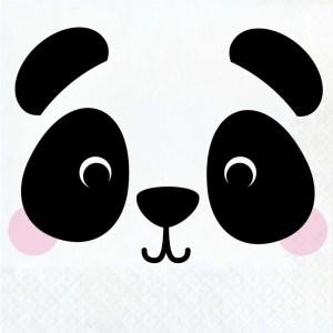 Servilletas de Panda