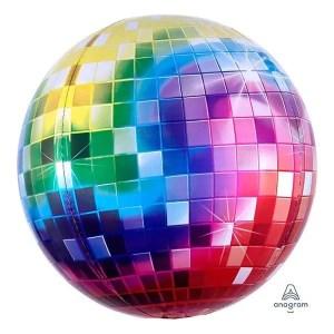 Globo Mylar Orbz Disco