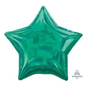 Globo Mylar Verde Iridicente