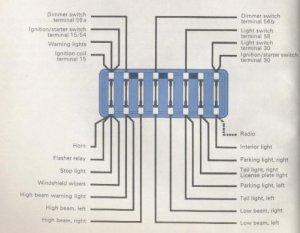 1965 Beetle Wiring Diagram | TheGoldenBug