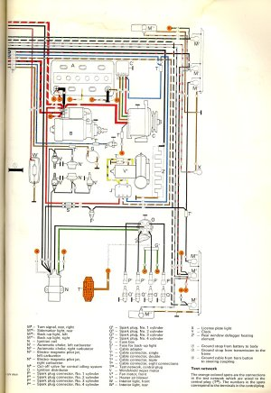 1972 Bus Wiring diagram | TheGoldenBug
