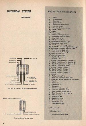 1954 Beetle Wiring Diagram | TheGoldenBug