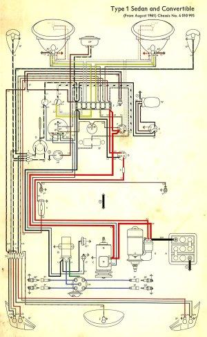 1962 Beetle Wiring Diagram | TheGoldenBug