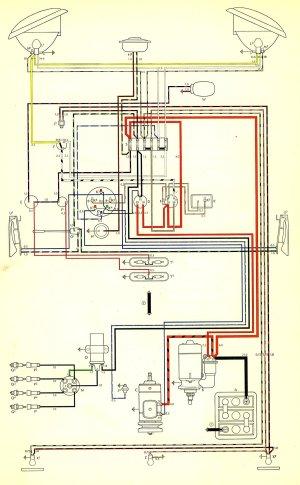 1959 Bus Wiring Diagram | TheGoldenBug